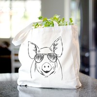 Perry the Pig - Tote Bag