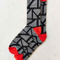 Marled Triangle Pattern Sock-