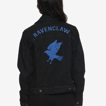 Harry Potter Ravenclaw Girls Denim Jacket