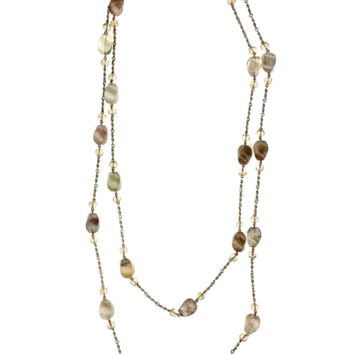Champagne Rocks Necklace