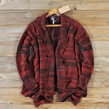 North Frost Knit Sweater in Wine