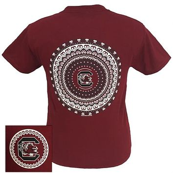 South Carolina Gamecocks Preppy Mandala T-Shirt