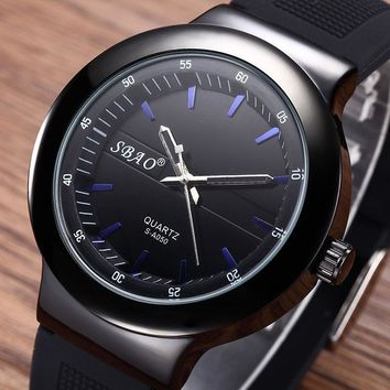 Designer's Good Price Great Deal Gift Trendy Stylish Awesome New Arrival Silicone Men Waterproof Watch [10816521475]
