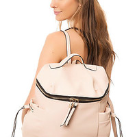 The Day Tripping Backpack in Vegan Leather