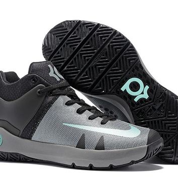HCXX N309 Nike Zoom KD Trey 5 iv Low Actual Basketball Shoes Grey Black Green