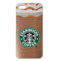 Starbucks Ice Coffee Caramel Drizzle Phone Cases For iPhone 4/4s/5/5s/5c/6/6plus