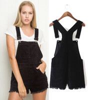 Winter Lights Tassels Casual Pants Romper [6315469185]