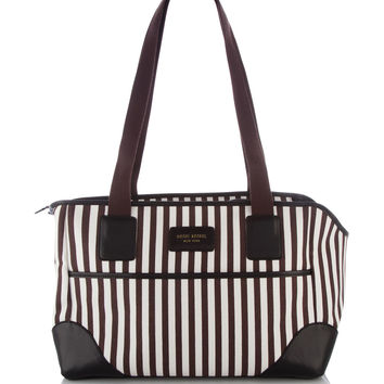 Stripe Canvas Dog Carrier