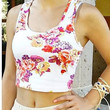 FLORAL DREAMS CROP TOP