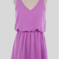 Simply Summer Dress in Purple