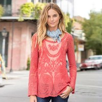 Lace Necklace Tunic