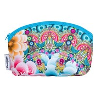 Desigual Mandala Cosmetics Case - Blue Multi