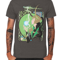 Marvel Universe Loki God Of Mischief T-Shirt