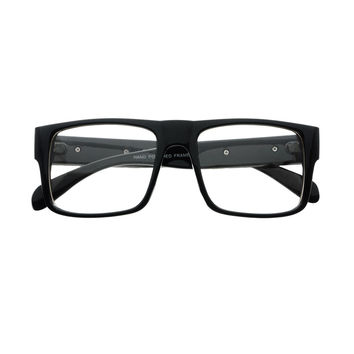 High Fashion Clear Lens Square Flat Top Eyeglasses Frames FT78