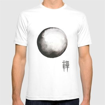 Zen painting and Chinese calligraphy T-shirt by Color and Color