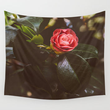 The Rose Wall Tapestry by Pati Designs