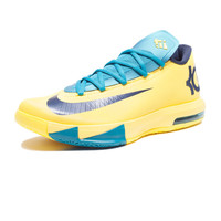 NIKE KD VI - SONIC YELLOW/NAVY | Undefeated