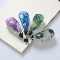 DCCKL72 4 Pcs/lot Small Universe Cute Japanese Correction Tape Pens Mini Office Accessories School Supplies Stationery 5mm x 1.8m