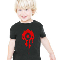 Horde Drip WOW World Of Warcraft TODDLER Tshirt tee 510P