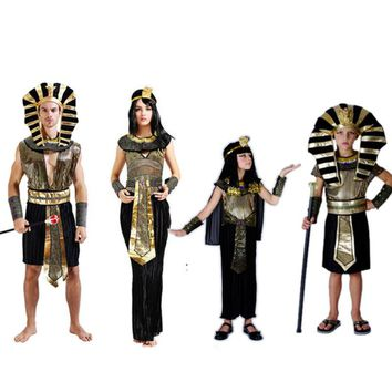 cleopatra sexy ancient egyptian pharaoh costume clothing dresses kids girls boys children child costumes women men adult female