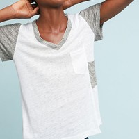 Wilt Colorblocked Linen Tee