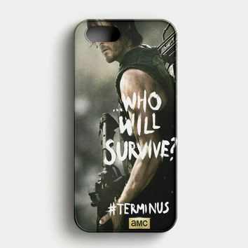 The Walking Dead Carl Grimes iPhone SE Case