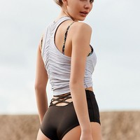 Out From Under Strappy Back High-Waisted Bikini Bottom | Urban Outfitters