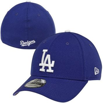 New Era Los Angeles Dodgers MLB Team Classic 39THIRTY Flex Hat