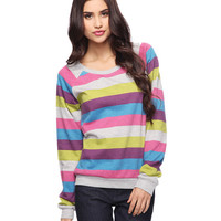 Candy Stripes Pullover