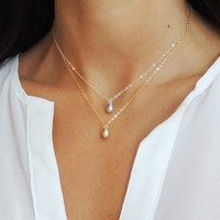 Briolette Necklace - Christine Elizabeth Jewelry™
