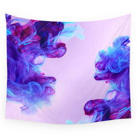 Society6 Ink Drops Wall Tapestry