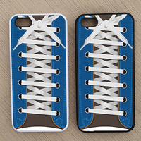 Converse Tennis Shoe Tied Shoe Hipster iPhone Case, iPhone 5 Case, iPhone 4 Case, iPhone 4S Case - SKU: 128