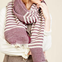 Central Park Cinema Scarf in Plum | Mod Retro Vintage Scarves | ModCloth.com