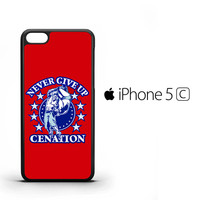 John Cena Never Give Up Cenation V0478 iPhone 5C Case