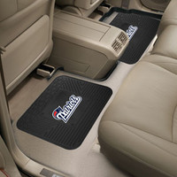Nfl  New England Patriots  Backseat Utility Mats 2 Pack