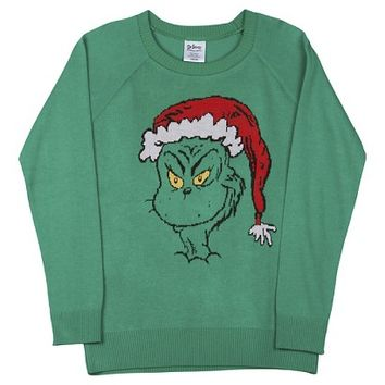 Grinch Pullover Sweater Green