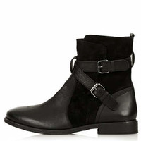 AYE Pirate Ankle Boots - Black
