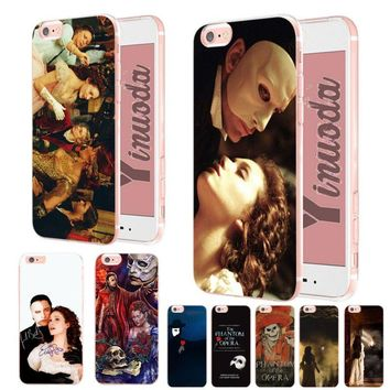 Yinuoda The Phantom of the Opera 2018 Colored Drawing soft tpu phone Case for iPhone X XS XR XsMax 6 6S 7 7plus 8 8Plus 5 5S SE