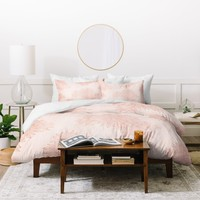 Iveta Abolina Beach Day Pink Duvet Cover