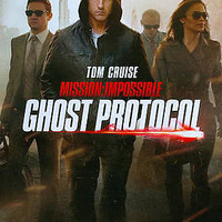 Mission: Impossible Ghost Protocol 2013 by Paramount Ex-library