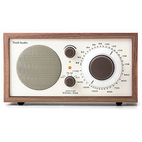 Model One Radio, Beige/Walnut