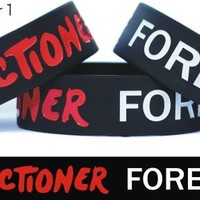 Directioner Forever One Direction Fan 4ever Wristband Bracelet