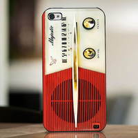 Red And White Majestic Radio - cover case for iPhone 4|4S|5|5C|5S|6|6 Plus Note 2|3 Samsung Galaxy s3|s4|s5 Htc One M7|M8