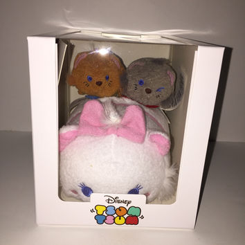 Disney Subscription Marie Small and Aristocats Mini Tsum Set New With Box