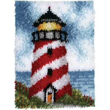 "Sailors Beacon Wonderart Latch Hook Kit 15""X20"""