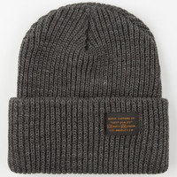 Matix Service Beanie Charcoal One Size For Men 24443311001