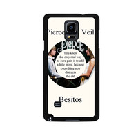 Pierce The Veil Song Lyrics Band Samsung Galaxy Note 3 Case