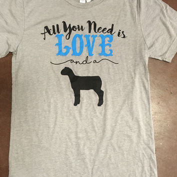 All You Need is Love & a lamb