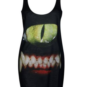 Iron Fist Cyclops Kitty Tank Dress - Buy Online at Grindstore.com