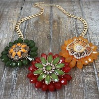Forest Flower Necklace